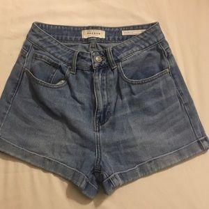 PacSun High Waisted Mom Jean Shorts Size 26